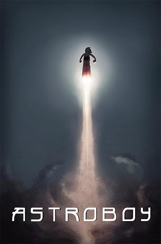 Teaser póster de Astroboy